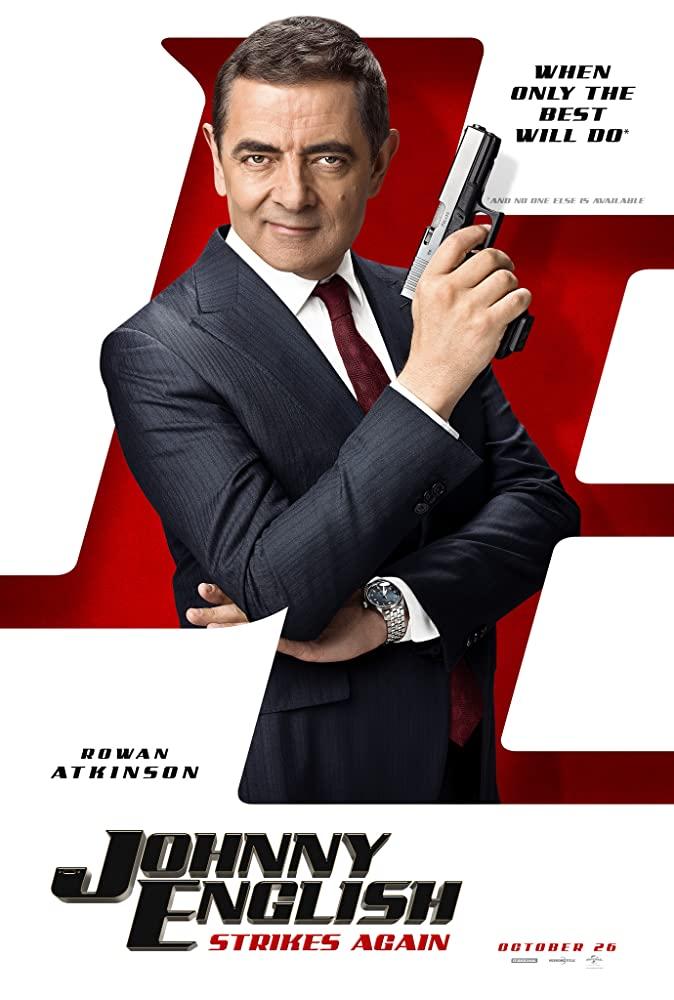 Johnny English Strikes Again จอห์นนี่ อิงลิช พยัคฆ์ร้าย ศูนย์ ศูนย์ ก๊าก รีเทิร์น (2018)
