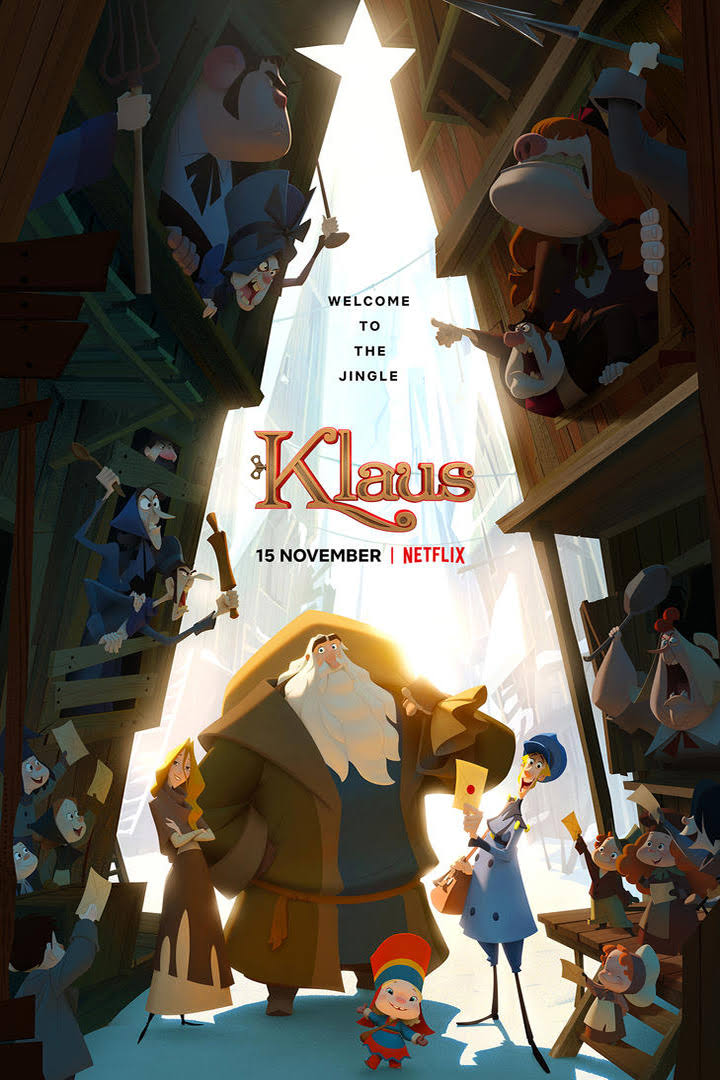 Klaus | Netflix (2019) มหัศจรรย์ตำนานคริสต์มาส