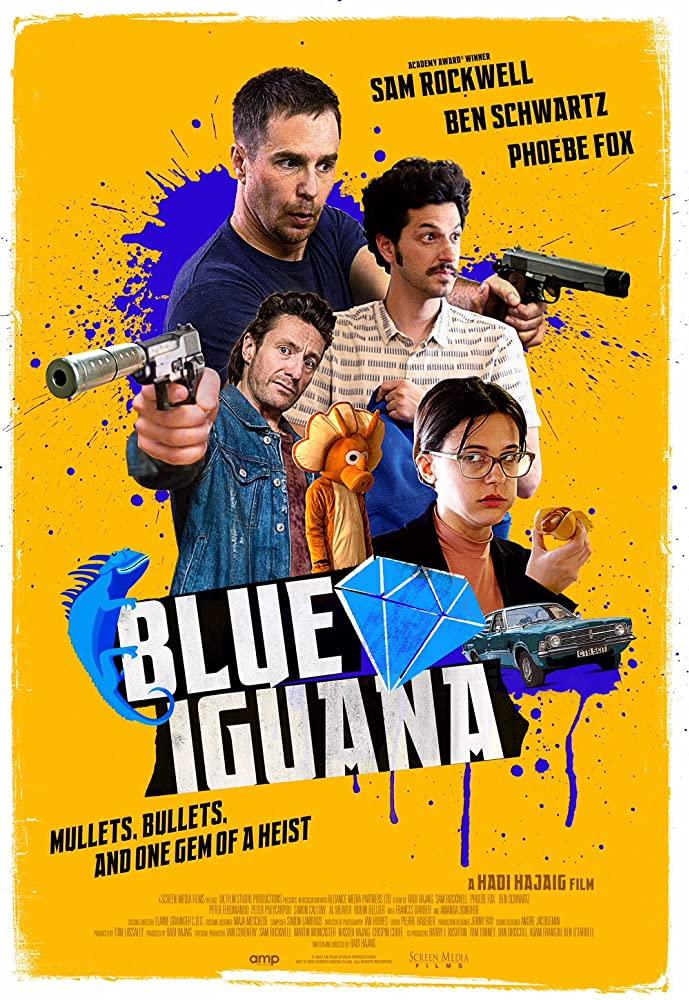 Blue Iguana (2018)